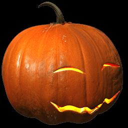 Pumpkin Smile Sticker