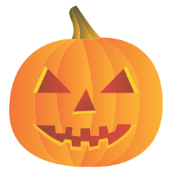 Friendly Pumpkin Sticker