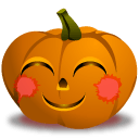 Pumpkin Blush Sticker