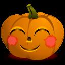 Pumpkin Blush Sticker