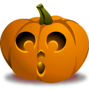 Pumpkin Gasp Sticker