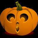 Pumpkin Gasp Sticker