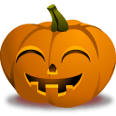 Pumpkin Grin Sticker