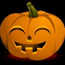 Pumpkin Grin Sticker
