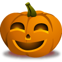 Pumpkin Happy Sticker