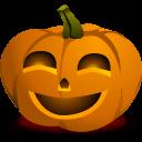 Pumpkin Happy Sticker