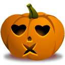 Pumpkin Kiss Sticker