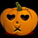 Pumpkin Kiss Sticker