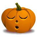 Pumpkin Sleep Sticker