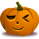 Pumpkin Wink Sticker