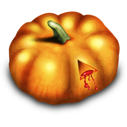 Bloody Pumpkin Sticker