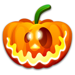Halloween Crazy Sticker