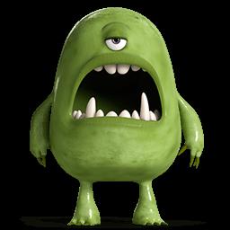 Monsters 4 Sticker