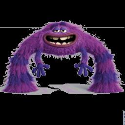 Monsters Art Sticker