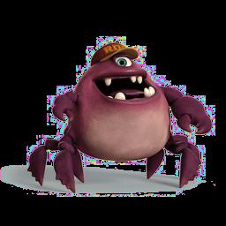 Monsters Chet Sticker