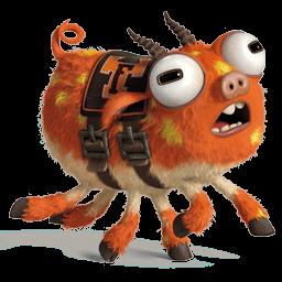 Monsters Mascot Sticker