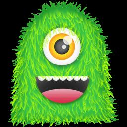 Green Monster Sticker
