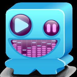 Monster Blue Sticker