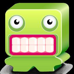 Monster Green Sticker