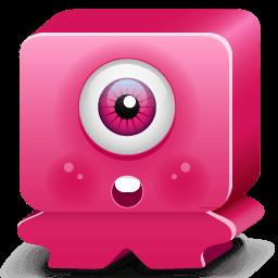 Monster Pink Sticker