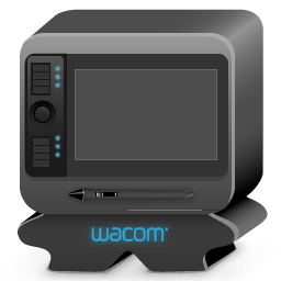 Monster Wacom Sticker