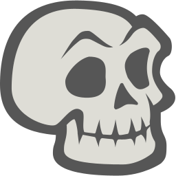 Skeleton Sticker