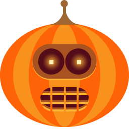Pumpkin Bander Sticker
