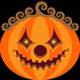 Pumpkin Clown Sticker