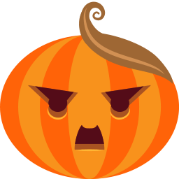 Pumpkin Dictator Sticker