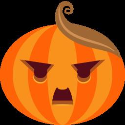Pumpkin Dictator Sticker