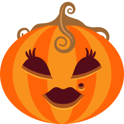 Pumpkin Lady Sticker