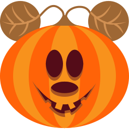 Pumpkin Mouse Sticker