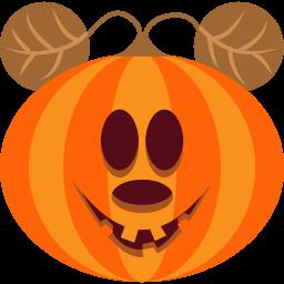 Pumpkin Mouse Sticker