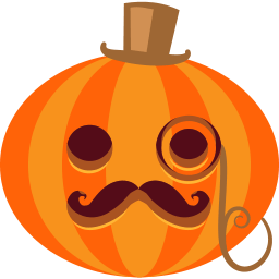 Pumpkin Posh Sticker