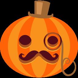Pumpkin Posh Sticker