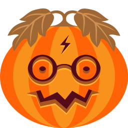 Pumpkin Potter Sticker