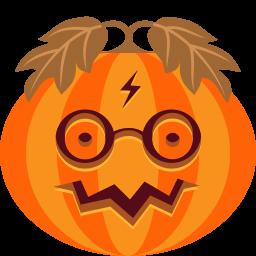 Pumpkin Potter Sticker