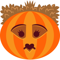 Pumpkin Queen Sticker
