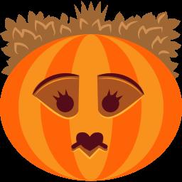 Pumpkin Queen Sticker