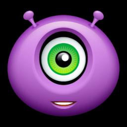 Alien Friendly Sticker