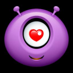 Alien Love Sticker