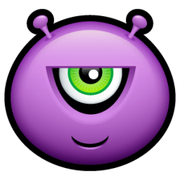 Alien Malicious Sticker