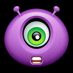 Alien Talk Sticker