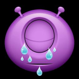 Alien Tears Sticker