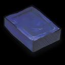 Blue Soap Sticker