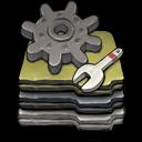 Folder Options Sticker