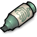 Green Marker Sticker