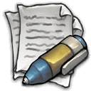 Pen Writing Sticker