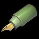 Green Pen Sticker