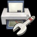 Printer Setup Utility Sticker